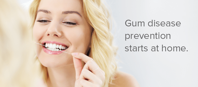 Protect yourself by checking for 6 signs of gum disease and by following these tips to prevent it.