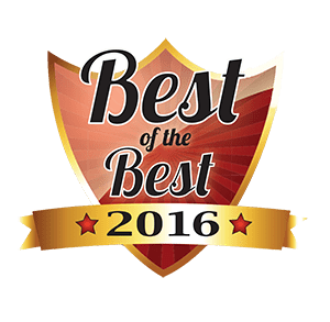 Best of the Best 2016 logo from Community Magazine - awarded to Dr. Andrew Schope