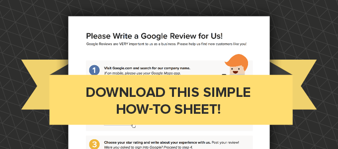 download a how to for a google review
